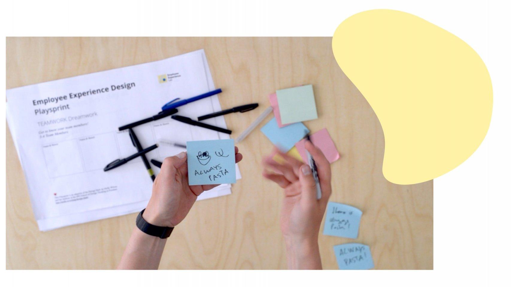 Design Thinking for HR Playsprint
